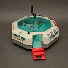 Vintage Playmobil Spaceship With Figures RS 2005 VY PL 7 | eBay