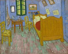 Vincent van Gogh Dutch, 1853-1890 The Bedroom, 1889 Oil on canvas Art Institute of Chicago