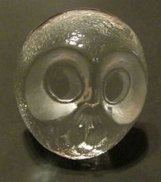 J. Sweden Crystal Owl paperweight