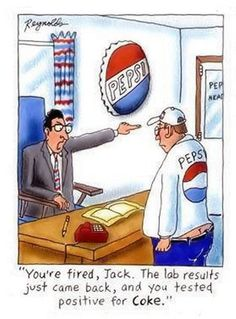 Once upon a time at the Pepsi company