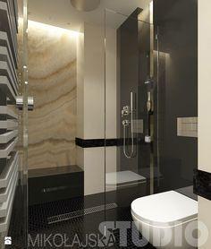 Projekt łazienki z wyższej półki - zdjęcie od MIKOŁAJSKAstudio - Łazienka - Styl Glamour - MIKOŁAJSKAstudio