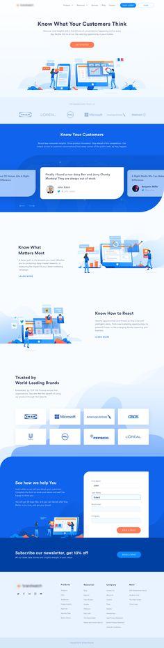 Brand analytics homepage attachment
