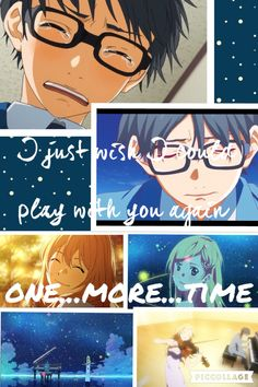 Your lie in April Collage