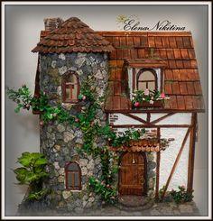 Этот дом мне заказала киностудия мультфильмов. Мебель они будут делать сами. Интересно, какие герои там будут жить?
