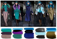 winter inspiration #colour #fashion