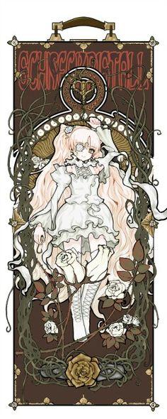 Rwby Anime, Manga Anime, Anime Art, Anime Sexy, Kawaii Anime Girl, Manga Games, Graphic Illustration, Art Nouveau, Cool Art