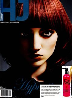 Take a look at our #extensionsaftercare shampoo featured on this month's issue of Hairdressers Journal! Don't forget to always keep your extensions looking great with our Foxy after-care! #hairthatrox #foxyhairextensions #foxyhair #hairextensions
