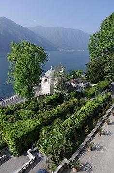 Italian Garden - Villa Carlotta, Lake Como
