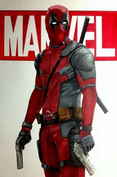 #Deadpool #Fan #Art. (The Merc with a mouth) By: Matamat07. ÅWESOMENESS!!!™ ÅÅÅ+