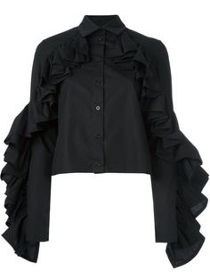 Shop Victoria/Tomas ruffle sleeve shirt in Penelope from the world's best independent boutiques at farfetch.com. Shop 400 boutiques at one address.
