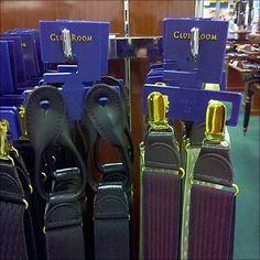 90º Bar Hook for Suspenders Display