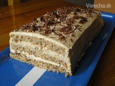 Orieškovo-karamelové rezy (fotorecept)