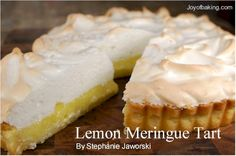 Lemon meringue tart recipe (and useful tips on how to prevent the meringue from slipping away from the filling).