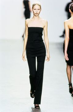 Calvin Klein Collection Fall 1999 Ready-to-Wear Fashion Show - Kirsty Hume