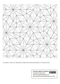 Rhombus_Flagstone-Eric_Gjerde.pdf.  (Just bought his book, can't wait for it to arrive!)