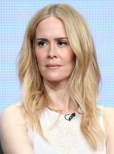 Sarah Paulson - lesbian. American film, stage, and television actress. Famous for stage roles in American Gothic and Jack  Jill, film roles in What Women Want, Path to War  The Notorious Betty Page. Also starred in Martha Marcy May Marlene  was nominated for her role in Game Change. Most recently, she became most famous for her roles in Seasons 2  3 of American Horror Story. She was in a relationship with Cherry Jones for 5 years.