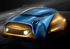 concept car design photoshop sketch render Alessandro_Zanotti
