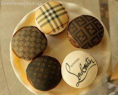 Gucci Cupcakes | she makes Fendi design cupcakes!! Gucci, Louis Vuitton, Christian ...