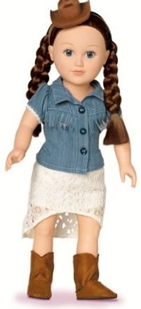 """""""My Life As Country Pop Star"""" DOLL CLOTHES OUTFIT - for 18"""" Doll (not included) includes FREE S & H!"""