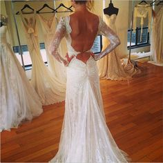The best bridal style of 2013: wedding dresses with unique backs and daring details - Wedding Party | Wedding Party