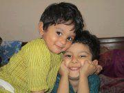 bushra sheikh:- my cutest nephews :*