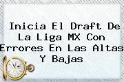 http://tecnoautos.com/wp-content/uploads/imagenes/tendencias/thumbs/inicia-el-draft-de-la-liga-mx-con-errores-en-las-altas-y-bajas.jpg Draft Liga Mx. Inicia el Draft de la Liga MX con errores en las altas y bajas, Enlaces, Imágenes, Videos y Tweets - http://tecnoautos.com/actualidad/draft-liga-mx-inicia-el-draft-de-la-liga-mx-con-errores-en-las-altas-y-bajas/