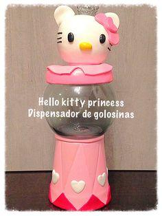 Dispensador de golosinas Hello Kitty