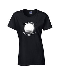 Funny Golfing Drinking and Driving T shirt mens women's hand printed by DopeShirtDealer on Etsy Golf Towels, Tea Towels, Dope Shirt, Golf Outing, Golf Day, Summer Girls, Summer Time, Golf T Shirts, Golf Quotes