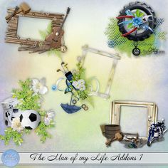 The man of my life Addons 1 (PU) by Louise L