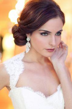 Side bun #wedding #hair