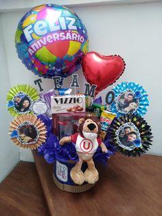 Pink Candy, Essie, Valentines Day, Balloons, Alice, Scrapbook, Halloween, Candy Arrangements, Original Gifts