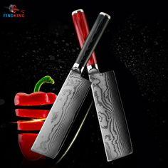FINDKING 6.5 дюймов дамаск сталь blade дамаск нож шеф-повара нож 71 слоев япония дамаск кухонный нож