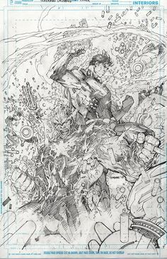 Superman Un-Chained by Jim Lee