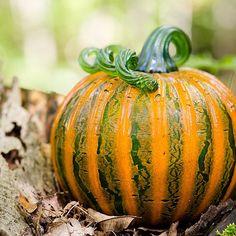 Gorgeous #Glass #Pumpkin!