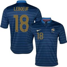 France #18 Frank Leboeuf Blue Home Soccer Country Jersey! Only $21.50USD