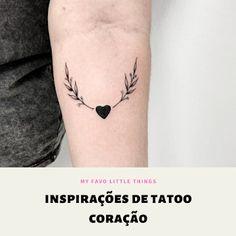 Inspirações de tatoo coração - Minhas pequenas coisas Tatoos, Hart Tattoo, Little Things