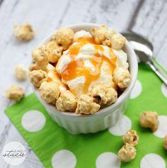 Sweet & Salty Caramel Crunch Sundae