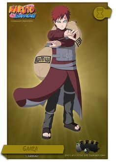 Gaara by byClassicDG on DeviantArt