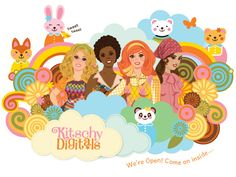 Big day today! The Grand Opening of Kitschy Digitals! blogged. (sale this week!)