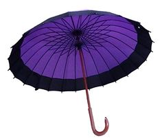 Fashion 24 Ribs Oversize Durable and Strong Enough Umbrella Windproof Waterproof Wood Handle Umbrella * Click image for more details. (This is an affiliate link and I receive a commission for the sales)