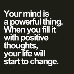 Fill your mind with positive thoughts Monday Quotes Positive, Positive Thoughts, School Motivation, Morning Motivation, Monday Motivation, Motivational Images, Inspirational Quotes, Quotes To Live By, Me Quotes