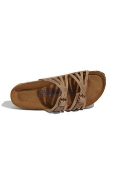 I know its wrong to want these... but i do Birkenstock 'Granada Soft Footbed' Sandal available at #Nordstrom