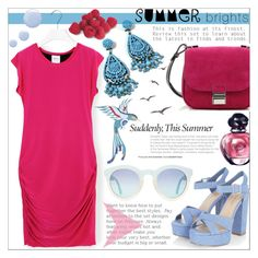 """Summer Brights"" by tanjakr on Polyvore featuring T-Bags Los Angeles, Proenza Schouler, MARBELLA, Topshop and Christian Dior"