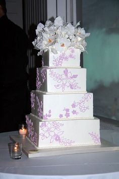 Sylvia Weinstock Wedding Cake |