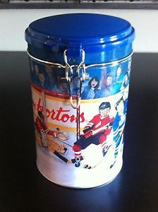 """TIM HORTONS """"Winning Goal"""" Collector Series #002 Limited Edition Tin Canister"""