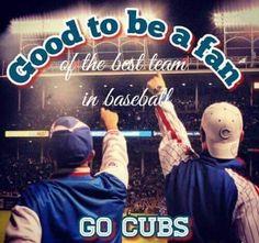 The BEST team in baseball...GO CUBS!! <3