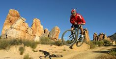 Mountain bike routes and trails in South Africa Mountain Bike Trails, South Africa, City