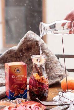 Hüttenlikör   Winterideen mit Kandis von Diamant Zucker