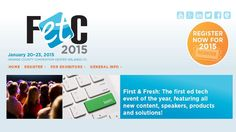 Be a Speaker at FETC 2015 - Submit your Proposal Today! #onlineed #fetc2014 #events #edchat #edtechchat #edtech #k12