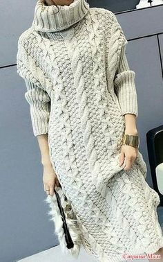 Knitting Patterns Dress Here on such beauty I casually came across. Dreaming about . Knitwear Fashion, Knit Fashion, Swag Fashion, Dope Fashion, Fashion Pants, 90s Fashion, Knit Skirt, Knit Dress, Sweater Dresses